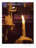Prayer candle, Liverpool Cathedral (2)