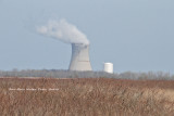 Davis-Besse Nuclear Power Station, looking from Magee Marsh