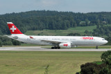 Swiss Airbus A330-300 HB-JHE