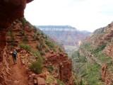 Overhanging cliff