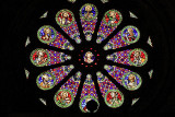Sé Cathedral, stained glass rosette