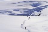 Walk in a glacier, Iceland