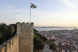 S. Jorge Castle and the view over Lisbon