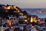 S. Jorge Castle from Senhora do Monte Lookout