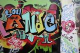 Graffiti near Amoreiras