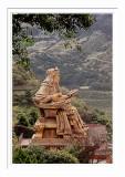 Jinguashi 金瓜石勸濟堂關公銅像