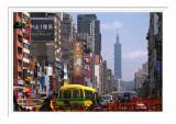 Taipei City Street Scene
