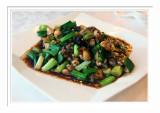 Oyster In Black Bean Sauce 欣葉蔭豆蚵仔