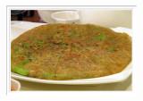 Taiwanese Pizza 絲瓜煎 -  台北雞家莊