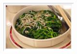 Stir Fried Veggie  吻仔魚莧菜  -  台北雞家莊
