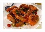 Ginger Scallion Prawns 姜蔥蝦 -  台北雞家莊