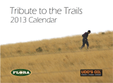 2013 Calendar - Tribute to the Trails