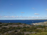 A view from Marstrand castle
