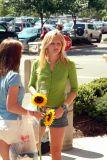 Miss M with Sunflowers.jpg