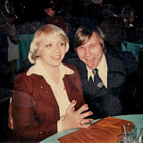 At Patty's wedding in 1979.