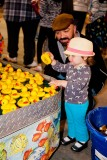 Amelia selects her ducky