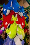 Stuffed dolphin prizes
