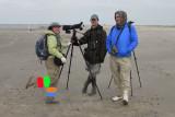 Delaina, Erik, and Don, PIPL Survey, Fourchon Beach, 11/28/12