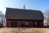 After two years of hard work here is a barn any farmer would be proud of. It is functional for the 3rd generation of the Finken family.