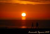 Sunset in Camogli