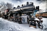 Steam engine 501 North Conway NH.