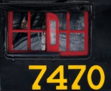 The ghost  of the 7470 steam train