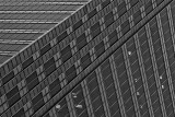 Lines of wall of skyscraper