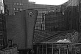 Main TVP - Polish Television -  headquarters at Jana Pawla Woronicza street