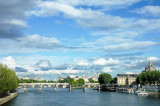 The Seine with Pont des Arts and Pont Neuf, Paris