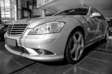 S 350 in Nasser Bin Khaled's Mercedes Showroom, Doha