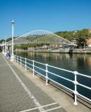 At the Nervión river, Bilbao