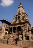 Vatsala Durga Temple, Durbar Square in Bhaktapur