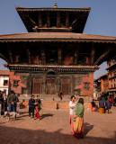 Pashupatinath Temple, Durbar Square in Bhaktapur