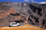 2012 Wadi Ghul up to Jebel Shams (Oman)