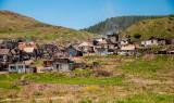 Gipsy settlement in Jánovce
