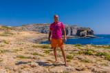 Me, Dwejra Bay