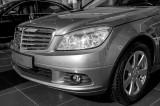 C 180 in Nasser Bin Khaled's Mercedes Showroom, Doha
