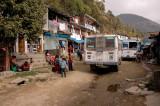 On the way from Kathmandu to Shyaphru Besi
