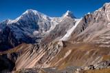 Langtang Lirung 7234m and Kimshung 6745m