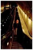 A loooong escalator