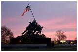 Revisiting the Iwo Jima Memorial at sunrise