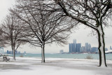 Belle Isle in Winter