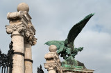 Statue Of Turul Bird