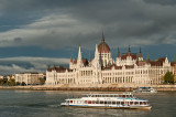 Parliament Building And The Sightseeing Boats