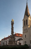 Holy Trinity Column And Franciscan Church
