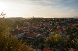 Veszprem Panorama With The Viaduct
