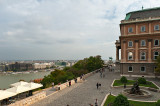 Buda Castle And Danube River