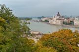 Danube River From Castle Hill