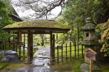 A gate of a garden in Kyoto @f2.8 D700