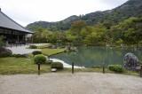 The garden of  Tenryū-ji in Kyoto @f5.6 D700